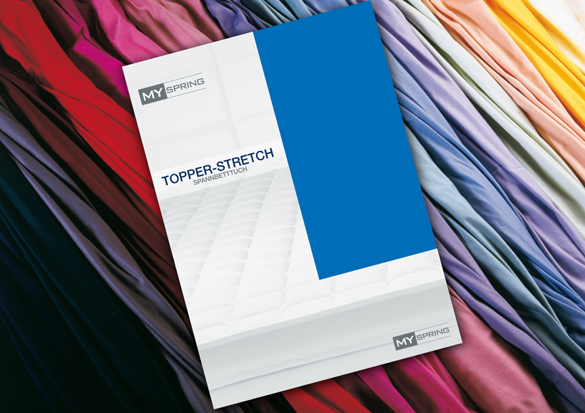 Spannbetttuch TOPPER-STRETCH